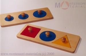 Монтессори-материалы из дерева