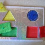 Рамка-вкладыш «Геометрическиефигуры»