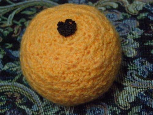 Описание вязания апельсина