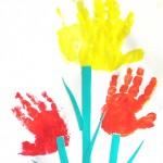 Рисунок-аппликация«Тюльпаны»