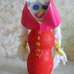 Кукла Маня из пластиковойбутылочки