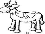 Лепим корову Буренку изпластилина