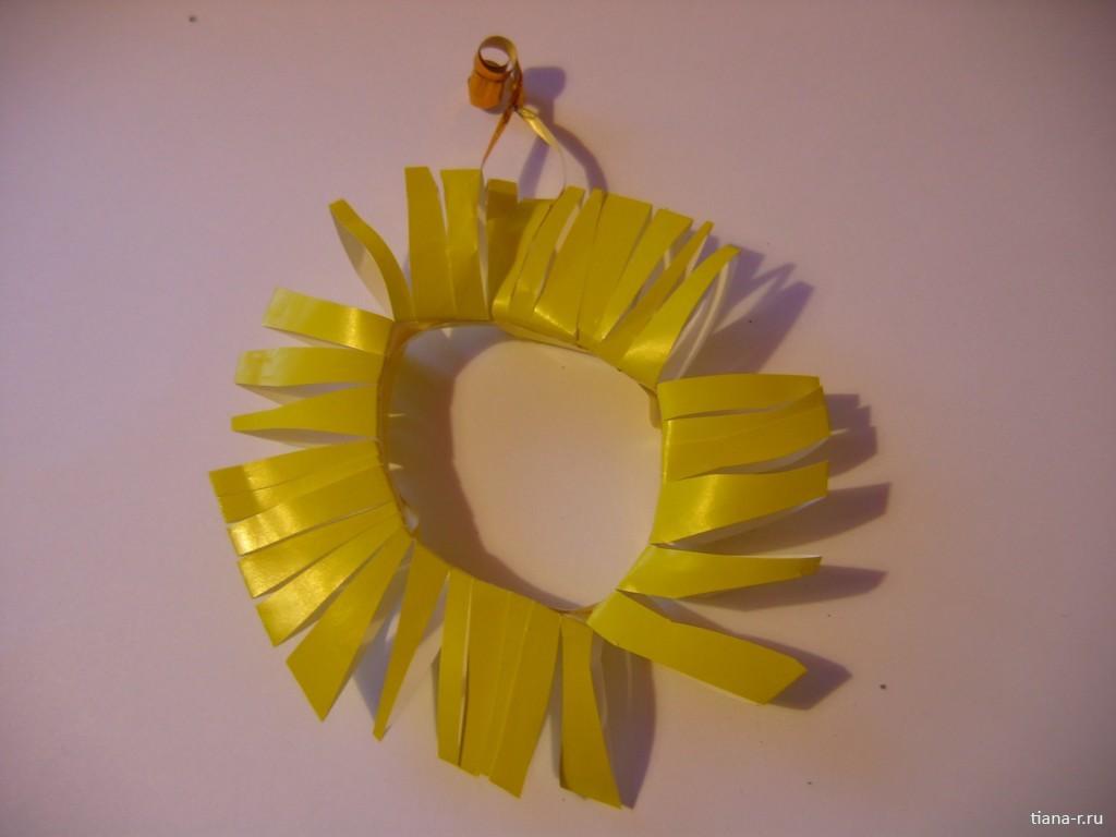 Солнышко своими руками из ниток фото 496