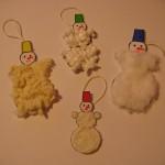 Елочные игрушки«Снеговики»
