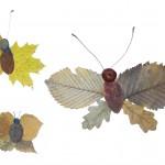 Аппликация «Осенниебабочки»