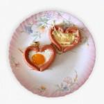 Сердешный завтрак длялюбимых