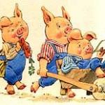 Сказка «Три поросенка»: два варианта сказки имультфильм