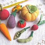 Шьем зеленый горошек и другие фрукты иовощи
