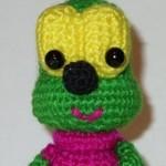 Вязаная игрушка Вжик от КристиныКомиссаровой