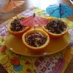 Неапельсиновый десерт изапельсинов