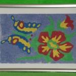 Картина из песка«Бабочка»