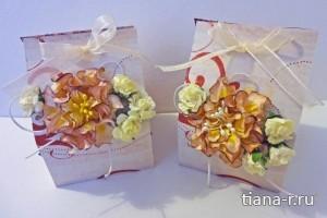 Подарочные коробочки с мылом ко Дню учителя