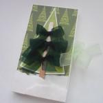 Новогодняя шоколадница с елочкой из палочки от мороженого ибантиков