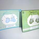 Новогодние открытки«Рукавички»