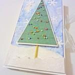 Новогодняя шоколадница с елочкой из бисера + небольшой МК поелочке