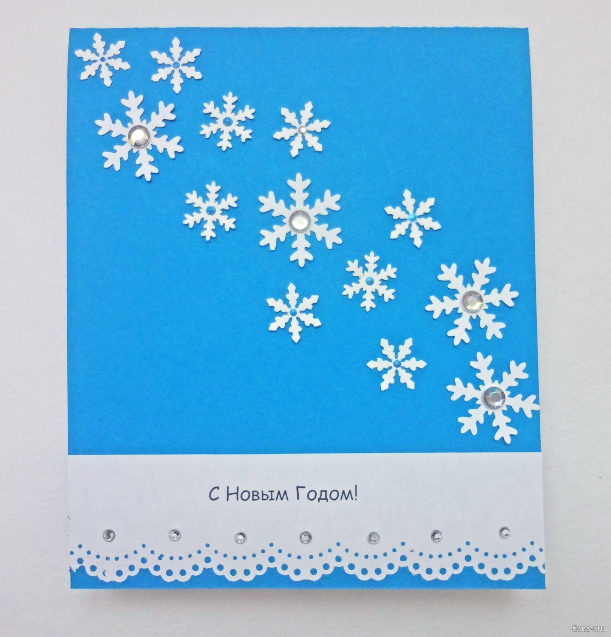 можете открытки со снежинками и елками наращивание ресниц